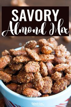 Savory Almond Mix. T