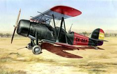 1936 Koolhoven FK-51 - Stanley Grove