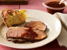 Southern-Style Brisket : A 5-hour slow smoke over mesquite or hickory wood chips gives this brisket a smoky succulence that's well worth the wait.
