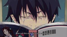 Ao no exorcist yukio is life and I'm Rin Ao No Exorcist, Blue Exorcist Anime, Rin Okumura, I Love Anime, Awesome Anime, Manga Anime, Anime Meme, Otaku Problems, 4 Panel Life