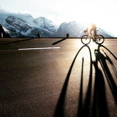 """rollersinstinct:  """"Where the shadows are long and the roads are..."""