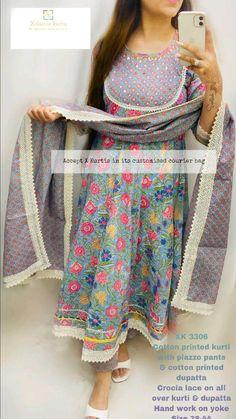 Punjabi Salwar Suits, Patiala Salwar, Kurti, Salwar Designs, Blouse Designs, Dress Designs, Fashion Wear, Fashion Pants, Fasion