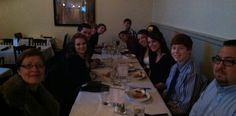 Dinner with the EACC Culinary Arts seniors. These #ProStart students had a great culinary exp at #523Tap.