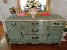 D.D.'s Cottage and Design: French Provincial Buffet