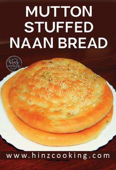 Keema Naan Recipe - Keema Stuffed Naan - How to Make Keema Naan Indian Food Recipes, Vegan Recipes, Cooking Recipes, Plain Naan, Recipes With Naan Bread, Breakfast Recipes, Dessert Recipes, Naan Recipe, Pakistani Recipes
