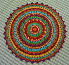 ⊰❁⊱ Mandala ⊰❁⊱  Tejido a Crochet