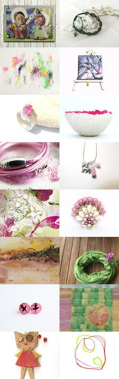 colorful sunday  by Sonja Zeltner-Mueller on Etsy--Pinned with TreasuryPin.com