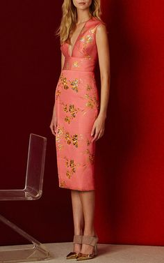 Lela Rose Pre Fall 2016 Look 5 on Moda Operandi