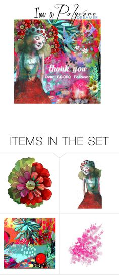 """""""Thank you!"""" by alynncameron ❤ liked on Polyvore featuring art"""