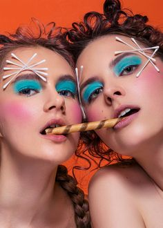 2 States - PHOTOGRAPHY: Ajax Lee  MAKE-UP: Po Tsang Ho HAIR: Weic Lin MODEL: ASIA & IRYNA @MOOZA Models  PHOTO ASSISTANT:…
