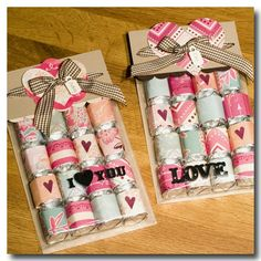 Im so making these for all of my girls for Valentine's Day!