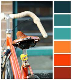 Oranje kleur inspiratie