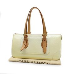 Louis Vuitton Rosewood Avenue Monogram Vernis Shoulder bags White Patent Leather M93508