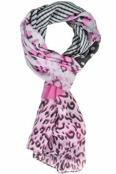 Dee Dee Leopard Dot Scarf - Pink/Black Affordable Scarves,http://www.amazon.com/dp/B00JVYPP3S/ref=cm_sw_r_pi_dp_8iOBtb1BN5HM3KCG
