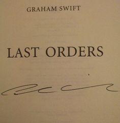 Graham Swift's Signature