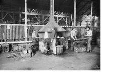 Blacksmiths shop WWI