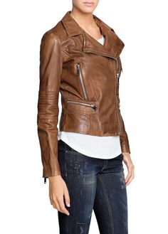 love these leather biker jackets