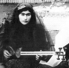Qajar's Tar player