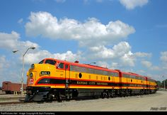 RailPictures.Net Photo: KCS 1 Kansas City Southern Railway EMD FP9 at Kansas City, Missouri by Zach Pumphery