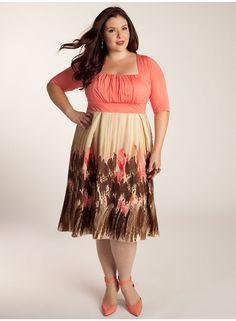 Lavinia Plus Size Dress - Work Wear Collection by IGIGI