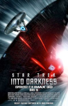 Star Trek Into Darkness (2013) BOOM awesome poster - this should be the best of the summer blockbusters. What do you think?