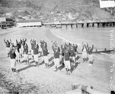 Chicago Cubs spring training at Catalina Island, California, c.1928