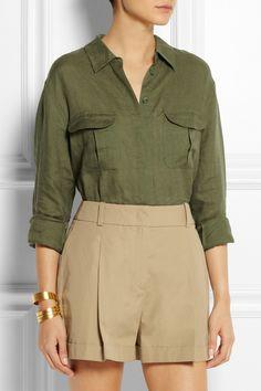 Style Arc Safari Sam Overshirt