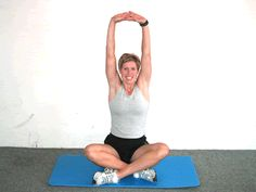 Today's Exercise: Torso Stretch. Try this at your desk!