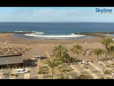 Live Webcam Playa de Troya - Time Lapse