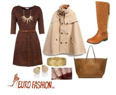 #Brown #Fashion #Chic