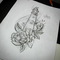 12 Tattoo Vorlagen Leuchtturm – small tattoo for women 12 Tattoos, Body Art Tattoos, Small Tattoos, Sleeve Tattoos, Tattoos For Women, Cool Tattoos, Tatoos, Ship Tattoos, Ankle Tattoos