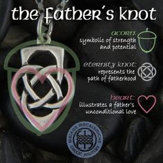 Father's knot pendants, key rings, tie bars and rings only at Walker Metalsmiths Daddy Daughter Tattoos, Father Daughter Tattoos, Father Tattoos, Dad Tattoos, Family Tattoos, Tattoos For Daughters, Sleeve Tattoos, Wing Tattoos, Celtic Tattoo Family