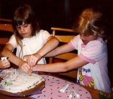 Do you know how long the Golden Girl sisters have been baking together?? Hint: a long time  :)  Happy Thursday!  #throwbackthursday #granola #gogoldengirl #bestgranolaever !