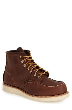 Red Wing Moc Toe Boot (Nordstrom Exclusive) (Men) | Nordstrom