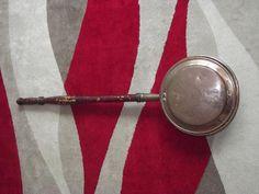 Vintage Brass Bed Warmer - 1950's - vintage bedwarmer. by BeautifulVintageBits on Etsy