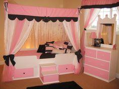Fifi Princess Canopy Bed
