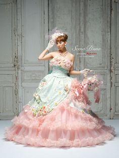 Scena D'unoの新作0364/Rua Bridalのプリンセスライン/レンタルウエディングドレス「結婚準備室」