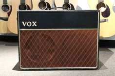 1963 Vox AX-10 Twin Combo Amp with Cover (Joe Satriani Private Collection)(Pre-Owned)