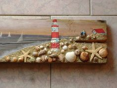 Another great idea for the shells we collect at the beach