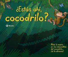 """""""¿estás ahí, cocodrilo?""""  El mono Max propone a sus amigos una excursión por la selva, pero estos tienen miedo de encontrarse con un cocodrilo. Max les asegura que los cocodrilos nunca salen del agua, ¡pero no sabe lo que se encontrará! ¿Eres tan valiente como Max? ¿Te atreves a meter la mano en los escondites para demostrar a tus amigos que no hay ...  DE 0 A 5 AÑOS Signatura: BEBÉ CUE"""