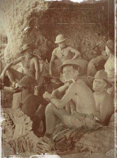 cavernes dans tobrouk en 1941