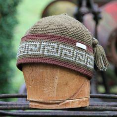 Tapestry crochet hat crochet beanie alpaca beanie by UpthePitt