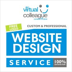Get in touch with us for Custom & Professional Website Design with a FREE Logo. Check out our service : https://yourvirtualcolleague.com/product/website-design-free-logo/ Call : UK - 02080046800 , USA - 631 899 2413.  #Bucks #neywork #losangeles #ohio #texas #london #shoreditch #essex #hartville #yourvirtualcolleague #calgary #toronto #edmonton #montreal #ukblogger #ukblogs #websitedesigner #websitedesign #bannerdesign