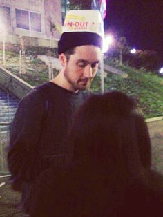 Theres a takeaway box on his head? Dan Smith, Bastille Band, Depressing Lyrics, Kyle Simmons, Bae, Laura Palmer, Bad Blood, Indie Music, Music Bands