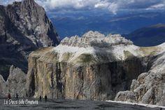 Sass Pordoi, La Terrazza delle Dolomiti (m. 2950) - Italy - Photos by Rita Bellussi & Alice Astore, La Danza della Creatività  http://ladanzadellacreativitahome.blogspot.it/
