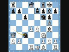 """Bobby Fischer's historic """"Game of the Century"""" - the one with the queen sacrifice and the astonishing sequence after. All at age 13."""