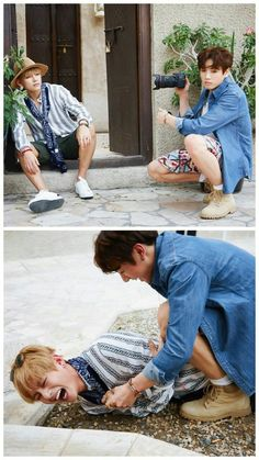 Jungkook and Taehyung bts Bts Jungkook, Namjoon, Bts Memes, Vkook Memes, Yoonmin, Taekook, Foto Bts, K Pop, Got7
