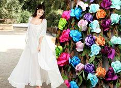 Elastyczna Opaska do włosów kwiaty róże EdiBazzar Boho Style, Boho Fashion, Vogue, Formal Dresses, Dresses For Formal, Bohemian Fashion, Formal Gowns, Boho Outfits, Formal Dress