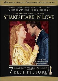 Thrilling and romantic tale based loosely on the life of William Shakespeare. Fictional account of his romance with a English nobleman's daughter. Very little in this movie is either factually or historically accurate but if you like romance and Shakespeare, don't miss this.
