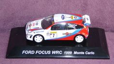 1/64 CMs RALLY CAR COLLECTION FIGURE SS.16 FORD FOCUS RS WRC 1999 Monte Carlo #7